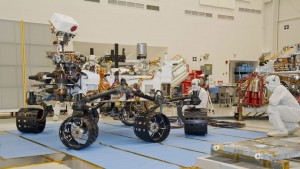 4 Curiosity rover