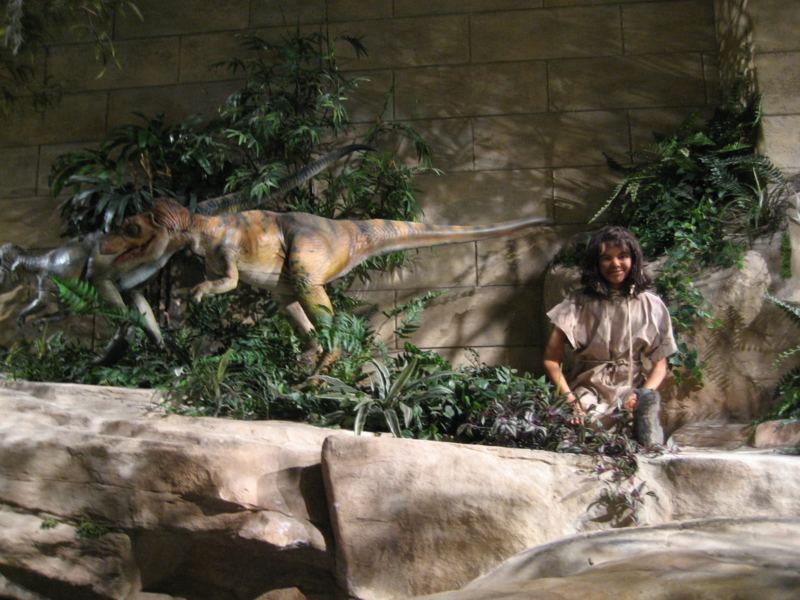 Humans and dinosaurs coexist at the Creation Museum